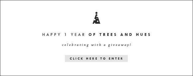 Of Trees and Hues Giveaway